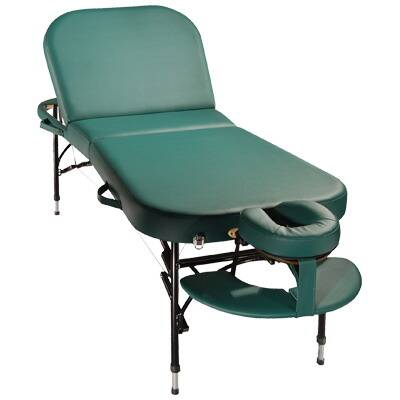 Alula Lift Back Portable Massage Table