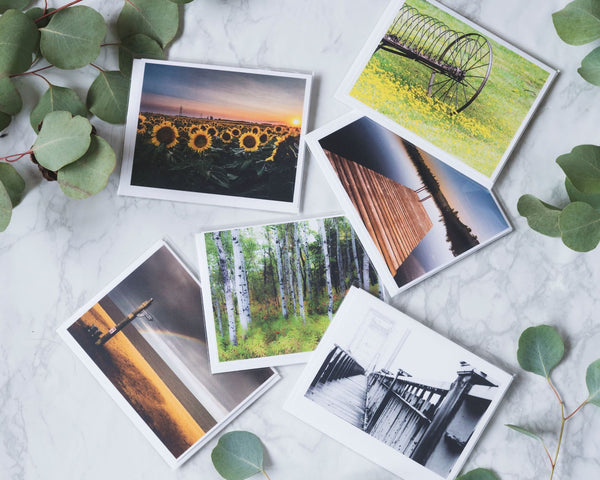 """Manitoba Moment"" Photo Note Cards"