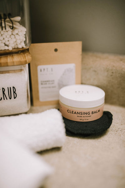 facial cleasning balm, gentle daily cleanser and makeup remover