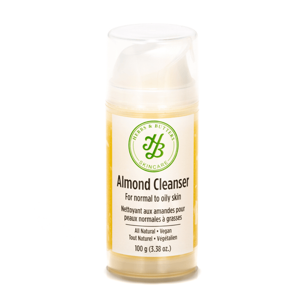 almond facial cleanser for normal to oily skin