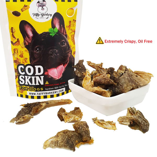 Crispy Cod Skin (ORIGINAL) for Dogs