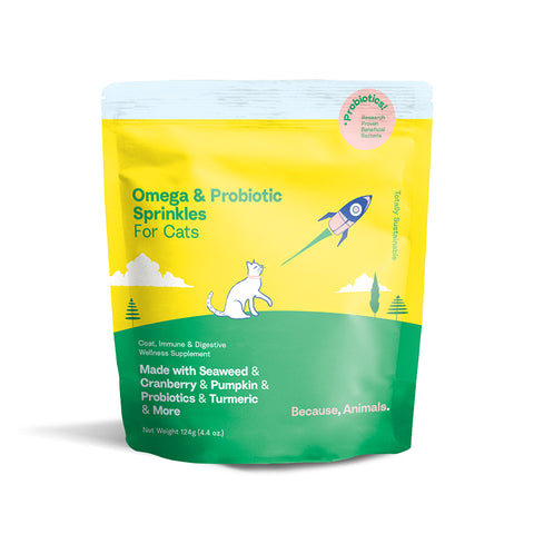 Omega & Probiotics Sprinkles for Cats