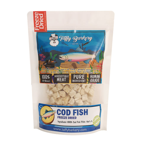 Freeze Dried Cod for Cats and Dogs
