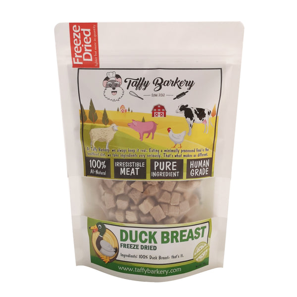 Freeze Dried Duck for Cats and Dogs