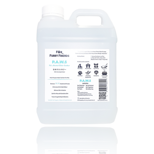 Pet's Activated Water Sanitizer (P.A.W.S)