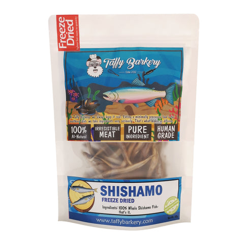 Freeze Dried Shishamo for Cats and Dogs