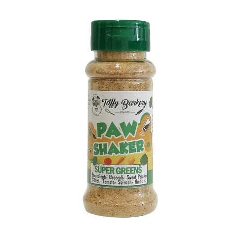 Paw Shaker - Super Green for Cats and Dogs