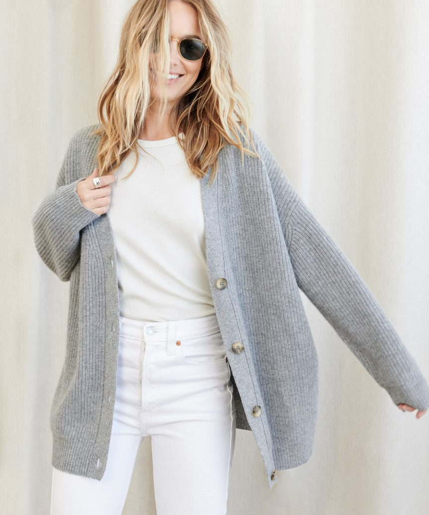 🔥Only $29.99🔥Loose jacket Vintage V-neck lazy Cardigan