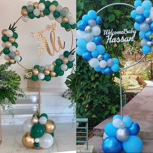 🔥HOT SALE 40% OFF🔥Balloon Wreath Round Arch Stand 🎈
