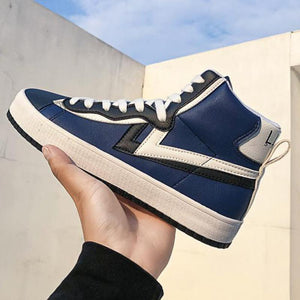 2020 Men Leather High Top Sneakers Air Force One