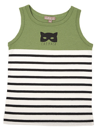 Catmask Tank by Emile et Ida