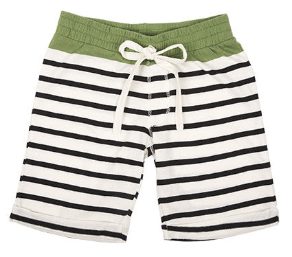 Striped Bermudas by Emile et Ida