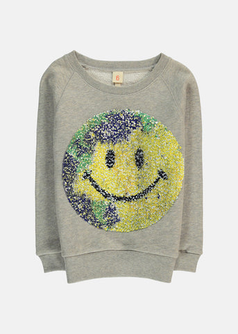 Anzy Happy Face Sweat by Bellerose