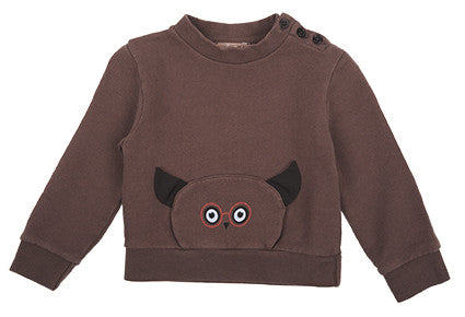 Fumee Hibou Sweat by Emile et Ida
