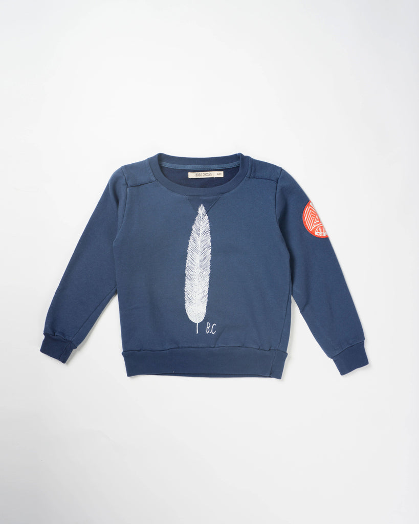 NEW! Feather Sweatshirt by Bobo Choses
