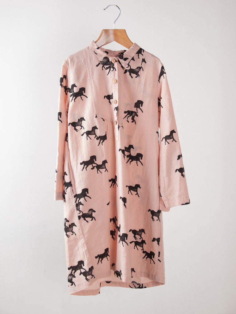 NEW! Horse Shirt Dress by Bobo Choses