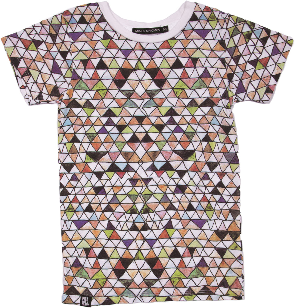 Mountains Crew Tee by Mini and Maximus- SALE ITEM