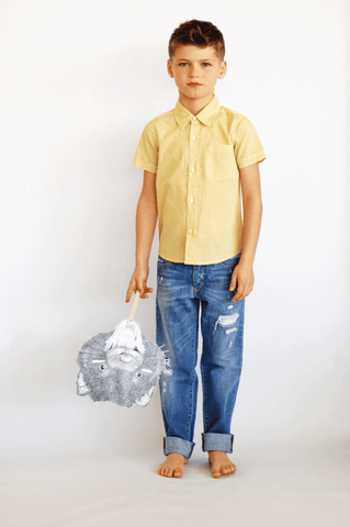 Wout Charlie Shirt by Simple Kids