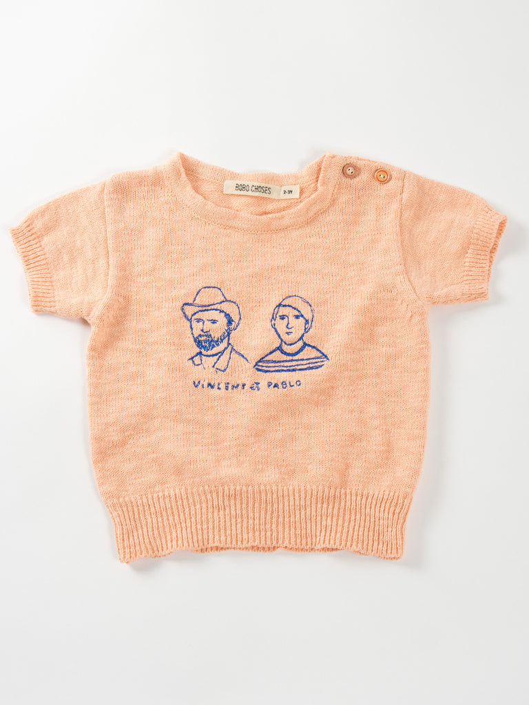 Vincent and Pablo Tee by Bobo Choses