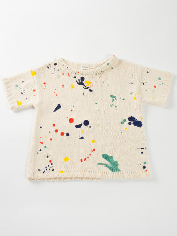 Babaa Knitted Tee by Bobo Choses