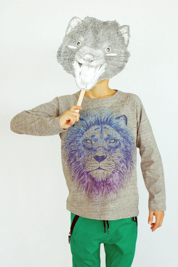 Viggo Lion LS Tee by Soft Gallery