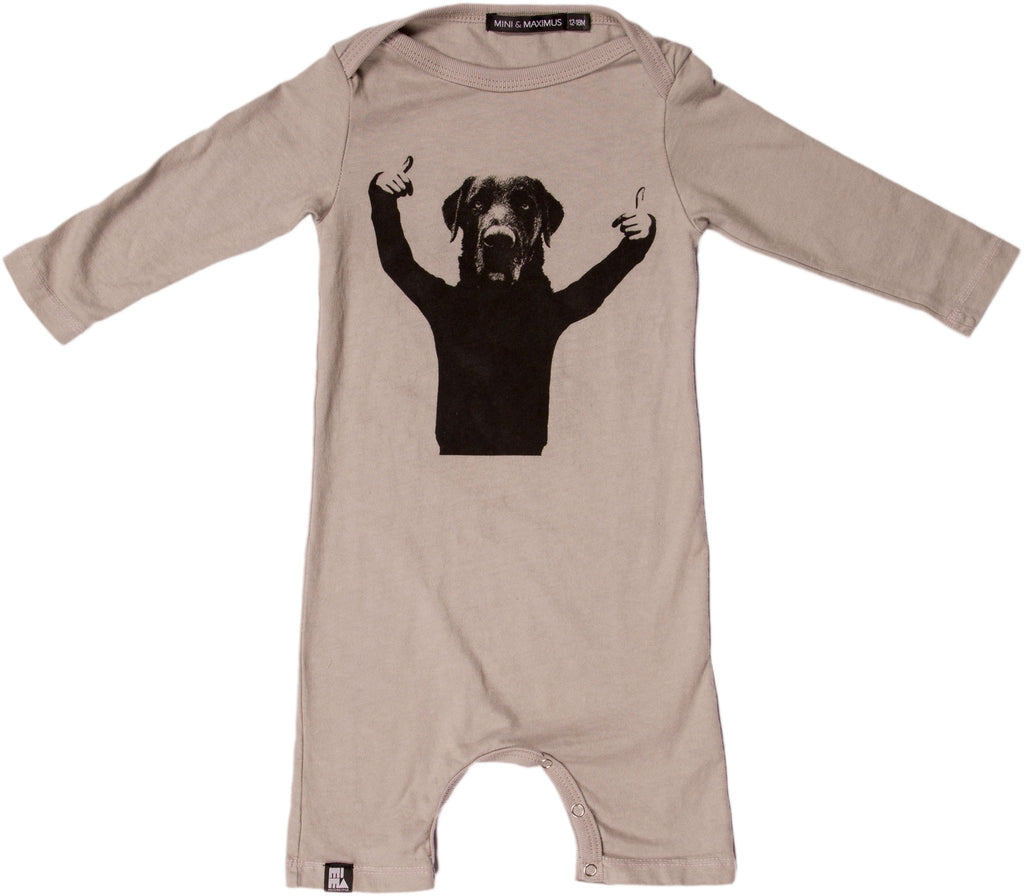 Thumbs Up Onesie by Mini and Maximus