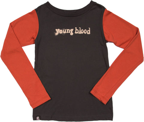 Young Blood Tee by Mini and Maximus