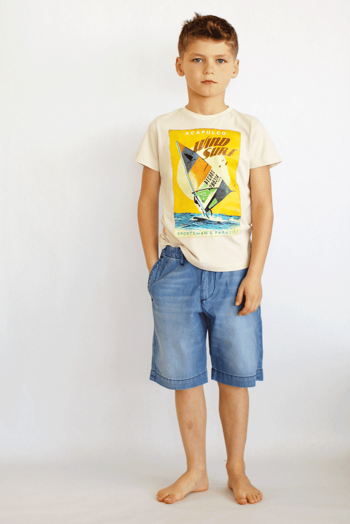 Keny Windsurf Tee by Bellerose