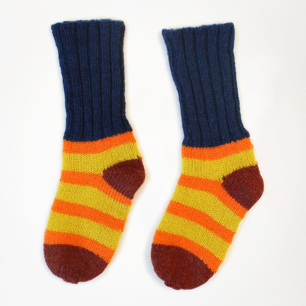 Stripey Socks by Degen - SALE ITEM