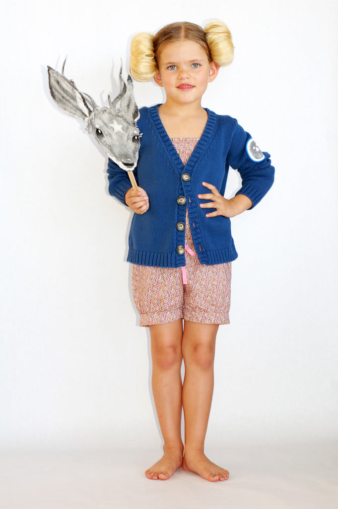 Knitted V Jacket by Bobo Choses
