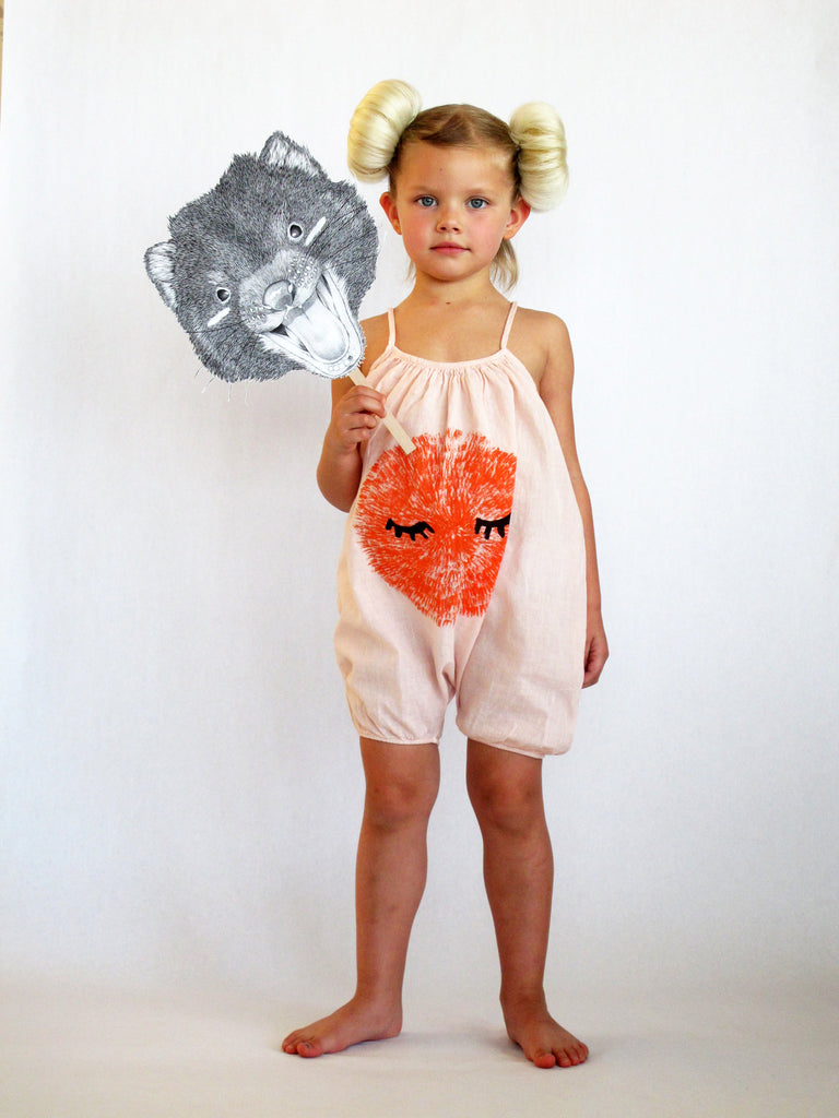 Mr. Shy Romper by Bobo Choses