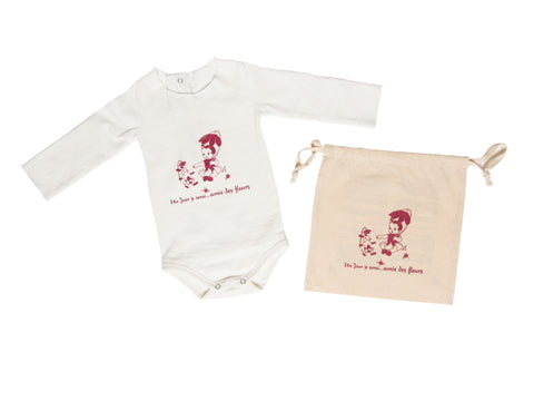 Baby Girl Bodysuit by Un Jour je serai