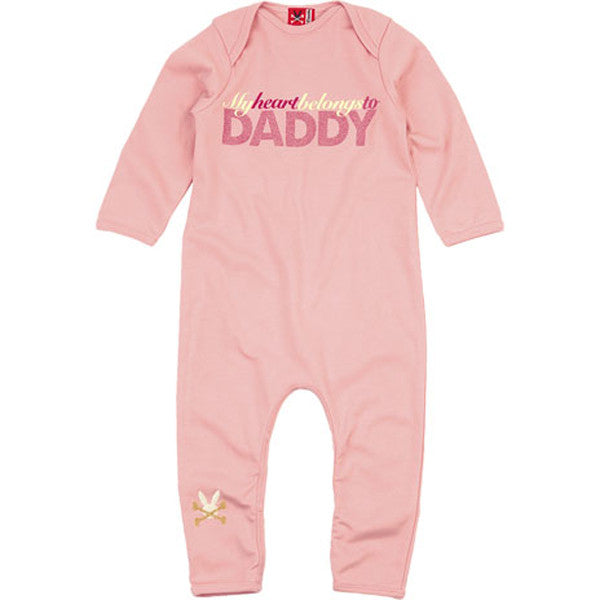 My Heart Belongs to Daddy Playsuit by No Added Sugar - SALE ITEM