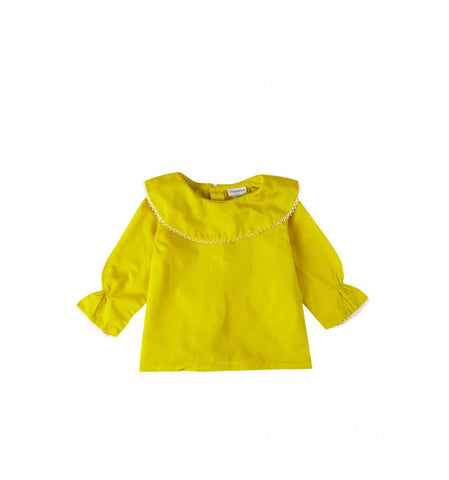 Collar Cape Blouse by yellowpelota