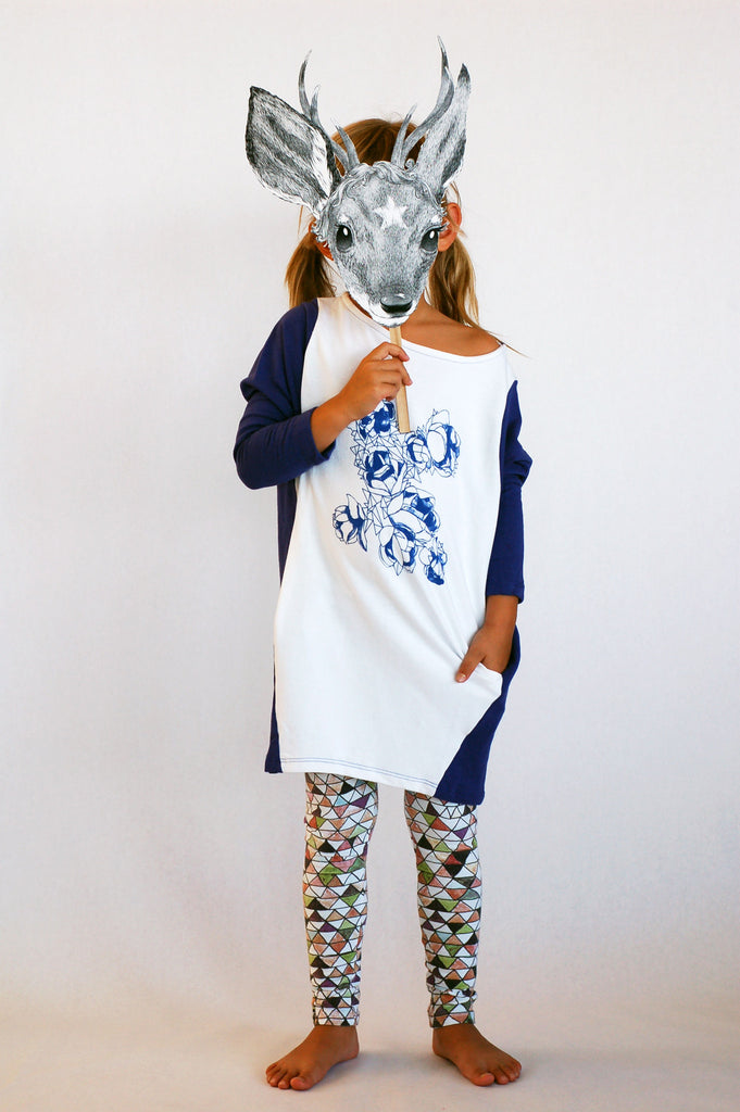 Like Roses Tunic by Mini and Maximus
