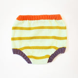 Light Stripes Diaper Cover by Degen - SALE ITEM