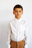 Ben Crisp White Shirt by Morley