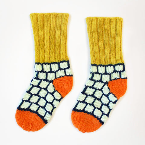 Blocky Sockies by Degen - SALE ITEM
