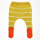 Stripe Footie Leggings by Degen - SALE ITEM