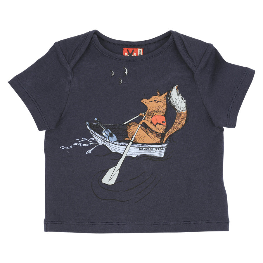 Fox In A Boat Top by No Added Sugar - SALE ITEM