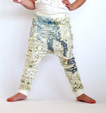 Baggy Map Leggings by Popup Shop