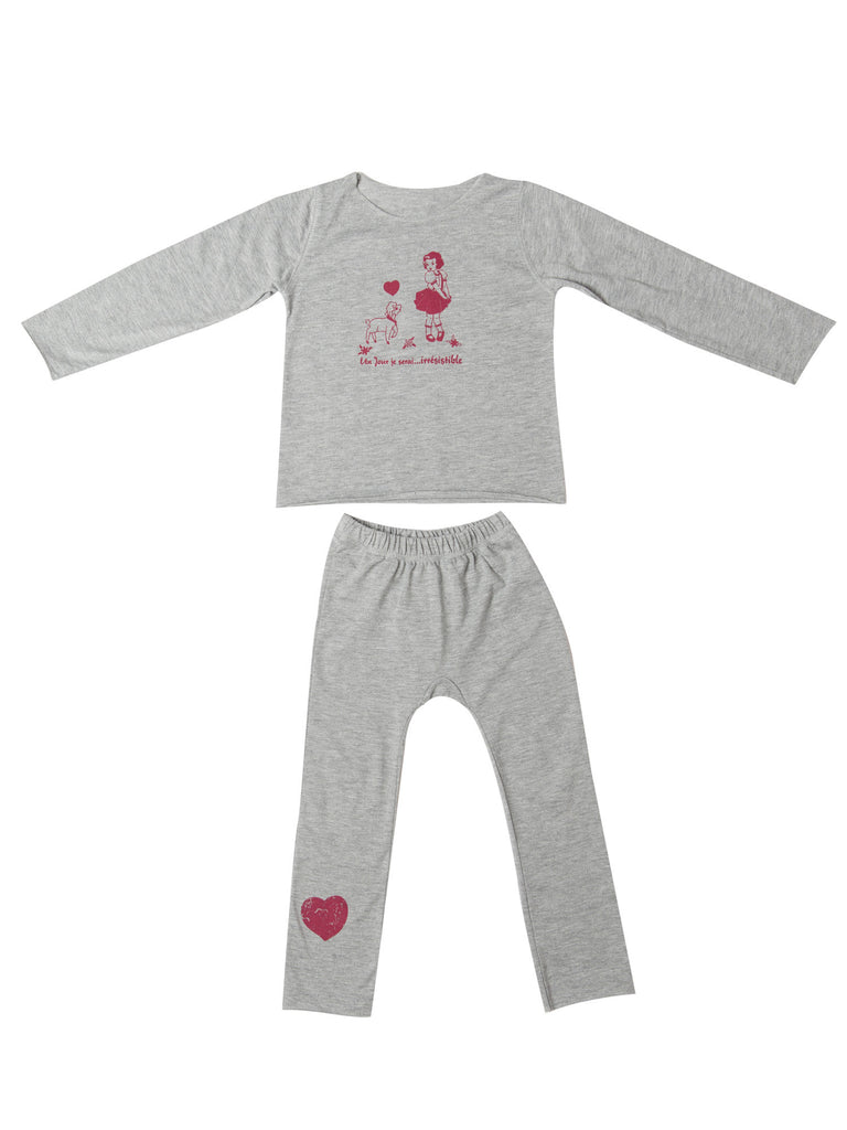 Irresistible Girls Pajamas by Un Jour je serai