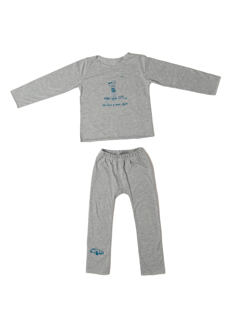 Boys Pajamas by Un Jour je serai