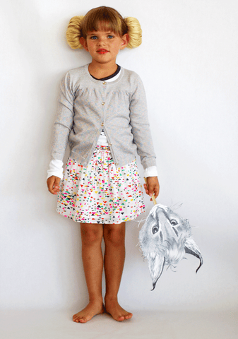 Jagger Confetti Skirt by Simple Kids