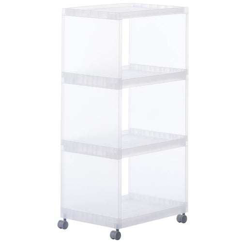 PP Shelf / With Caster / 3Layer