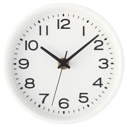 Analog Clock / S / White
