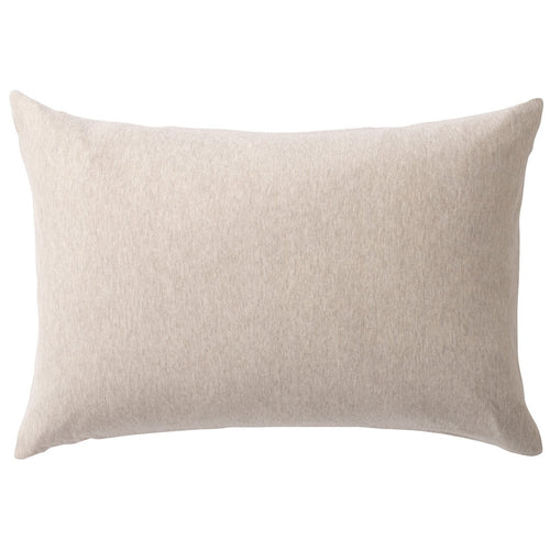 Organic Cotton Jersey Pillow Case Beige / 50X70