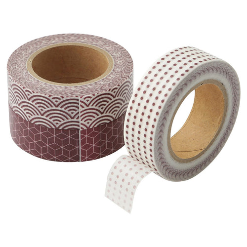 Masking Tape / Red Pattern