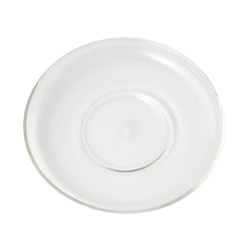 Heat Proof Glass Saucer