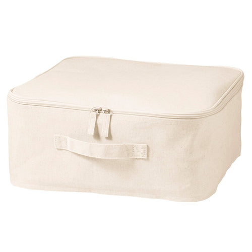 Cotton Linen Polyester Soft Box Square With Lid / S